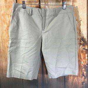 Banana Republic Martin Fit Bermuda Khaki Shorts
